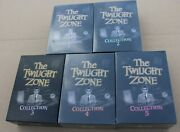 Vintage Rare The Twilight Zone Collection 1-5 Complete Dvd Box Sets 4 Are New