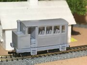 009 Oo9 Steam Tram Rail Motor Locomotive ,fits Kato 105 Double Bogie Chassis