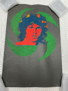 Original 1970and039s Signed Numbered Jim Morrison 1/10 By Cliff Johnson Cond. Issue