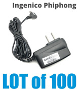 New Lot Of 100 Ingenico Phihong Psal05a-050 Ac Adapter Charger Micro-usb 5v 1a