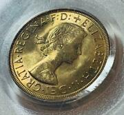 1958 Great Britain Elizabeth Gold Coin Pcgs Sovereign Antique Coin