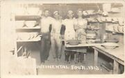 H53/ East Palestine Ohio Rppc Postcard Continental Pottery Interior Workers