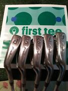 Tommy Armour 855s Silverscot Irons Set 6-pw Stiff Steel Shafts