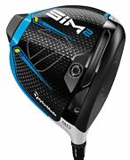 Taylormade Golf Sim2 10.5 Left Handed Driver Custom You Pick Shaft And Flex