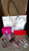 Clinique 2020 Holiday Cosmetic Tote Makeup Bag Lots