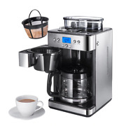American Home Use Coffee Beans Grinder Fully Automatic Stainless Coffe Machine C