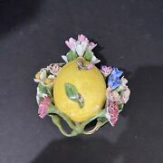 Meissen 19th Century Porcelain Jewelry Holder 2andrdquotall