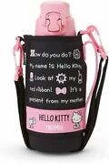 Sanrio Hello Kitty Thermos Squeeze Bottle 800ml Cold Storage Only W/track