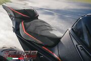 Luimoto R-cafe Suede And Tec-grip Seat Covers Set For Ktm 1290 Super Duke R 20-21