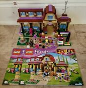 Lego Friends Heartlake Riding Club 41126 Complete With Instruction Books 2 And 3