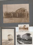 Rare Photos - Electric Trolley Car Railroad Station 1910 Rochester Manitou Rr Ny