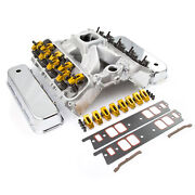 Chevy Bbc 454 Hyd Roller Cnc Cylinder Head Top End Engine Combo Kit
