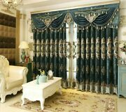 Embroidered Window Curtain Ceiling Installation Treatment High Shading Cloth New