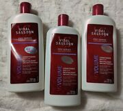 Vidal Sassoon Pro Series 3 Vs Boost And Lift Conditioner 750 Ml 25.3 Oz Old Label