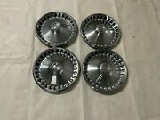 """1970-1974 Mopar A Body Hubcaps Plymouth Division Wheel Covers 14"""" Hub Caps"""