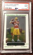 2005 Aaron Rodgers Topps Chrome Rc Rookie Packers Psa 9 Mvp