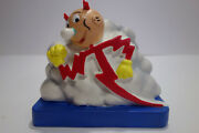 Extremely Rare Nos Vintage Reddy Kilowatt Cloud Bank Advertising Mint Condition