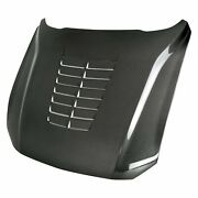 For Ford Mustang 18-19 Type-gt5 Style Gloss Carbon Fiber Hood