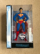 """Superman New Mattel Movie Masters Adult Collector 12"""" Figure White Carton Toy Ny"""