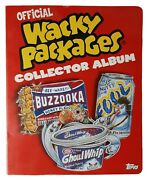 2005 Topps Wacky Packages Collector Album 2004 Series 1 Set - 2005 Series 2 Set