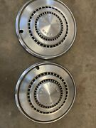 """Vintage Ford Truck 15"""" Hubcaps"""