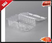 4 Lb. Vented Clamshell Clear Produce / Berry Container - 160/case
