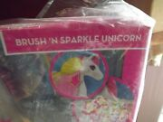 New Barbie Dreamtopia - Brush And039n Sparkle Unicornandnbsp - Lights And Sounds Age 3+