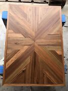 Hand Made Teak Tabletop For Boat