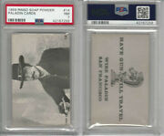 F373 Rinso Soap, Paladin Trading Cards, 1959, 14 Have Gun Will, Psa 7 Nm
