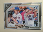 2020 Topps Gallery Jacob Degrom/pete Alonso Master And Apprentice Insert Ma-5