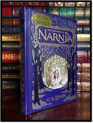 The Chronicles Of Narnia By C.s. Lewis New Sealed Rare Leather Bound Hardback