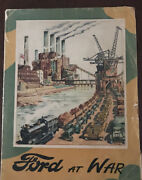 Ww2 Book - Ford At War By Hilary St George Saunders Illustrated By Helen Mckie