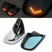 Motorcycle Rearview Side Mirrors W/ Turn Signal For Bmw K1200 Lt K1200m 99-08 Ct