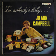 Jo Ann Campbell Iand039m Nobodyand039s Baby End 12 Lp 33 Rpm