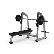 Precor Olympic Flat Bench Discovery Series Ex-demo - Commercial Gym Equipment