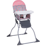 Full Size Baby High Chair Seat With Adjustable Tray Foldable Child Safe Feeding