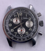 Vintage Mens Chronograph Chateau Sport Stainless Steel Watch