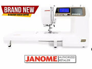 Janome 4120qdc-t / 4120 Computerized Sewing + Quilting Machine | Brand New