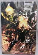 Marvel Comic Heroes For Hire 1 Giclee On Canvas Limited Edition 89/99 With Coa