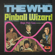 Who Pinball Wizard / Dogs Part Two Mca 7 Single 45 Rpm