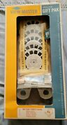 Vintage Viewmaster Deluxe Gift Pak Disney Reels Light Attachment Nos Unopened