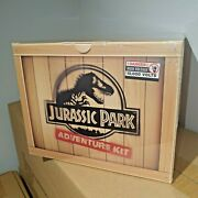 Jurassic Park Adventure Kit Doctor Collector With Replica Dinosaur Claw And Cap