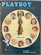 Playboy Magazines/complete Year-1957. All Centerfolds Excellent Condition.