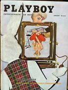 Playboy Magazines/complete Year-1956. All Centerfolds Excellent Condition.