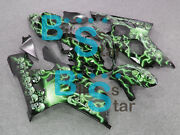 Injection Fairing Airbrushed Bodywork Kit W9 Fit Gsx-r600 Gsx-r750 2004-2005 28