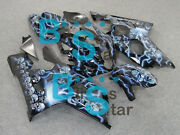 Injection Fairing Airbrushed Bodywork Kit W6 Fit Gsx-r600 Gsx-r750 2004-2005 25