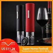 Automatic Bottle Opener For Red Wine Foil Cutter Electric Red Wine Openers Jar O