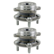 Pair New Wheel Hub Bearing Kit Front For Toyota Prius 1.8l Dohc 2009-2015 New