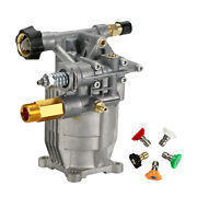 Replacement High Pressure Washer Pump Cleaner Pump 4000psi Horizontal 3/4and039 Shaft