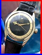 Vintage 50andacutes Universal Polerouter Ss-gold With Original Broad Arrow Golden Hands